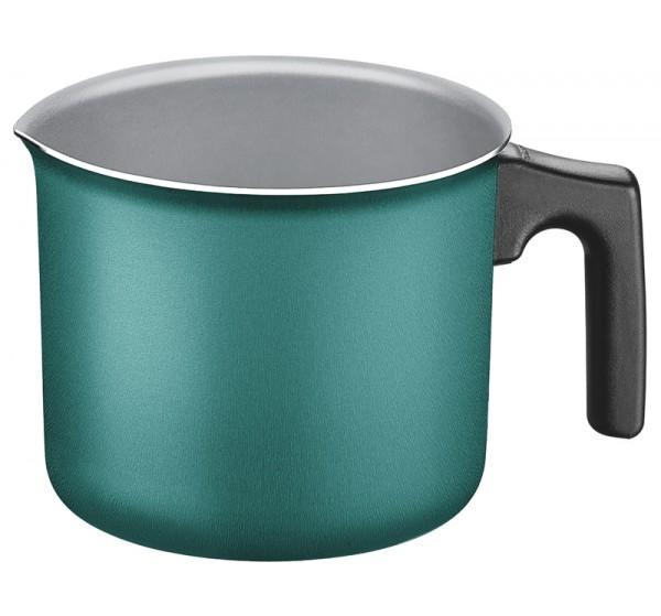 Fervedor de alumínio com revestimento antiaderente 14cm - Breakfast - Cor Verde