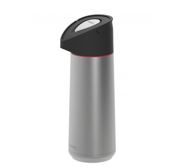 Garrafa térmica de aço inox com ampola de aço 2L - Exata