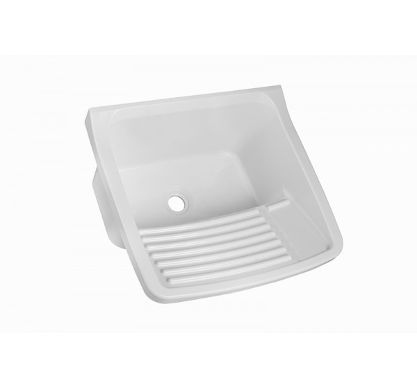 Tanque Plástico para lavar roupa 49x43x28 15 Litros TQ0 Branco Astra