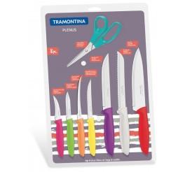Jogo de facas 8 peças - Plenus