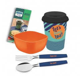 Kit para café da manhã 4 peças - Breakfast