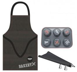 Kit para cupcake 6 peças - Bakery
