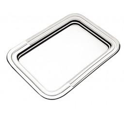 Bandeja retangular aço inox 422 x 301mm - Ciclo