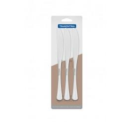 Conjunto facas de mesa aço inox 3 peças - Havana