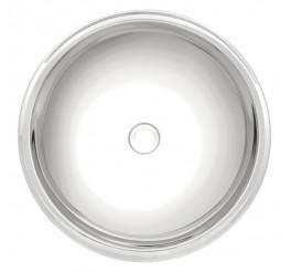 Lavabo Tramontina Redonda em Aço Inox Alto Brilho 34 cm - Perfecta