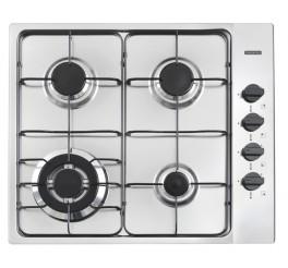 Cooktop a Gás Tramontina em Aço Inox 4 Queimadores - New Square 4GX TRI 60