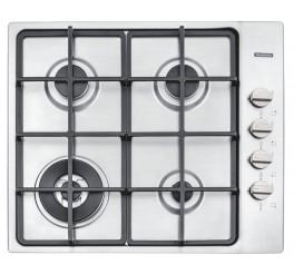 Cooktop a Gás Tramontina em Aço Inox 4 Queimadores - Square 4GX HE SAFESTOP 60