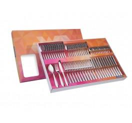 Faqueiro aço inox 60 peças - Laguna