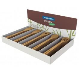 Caixa expositora bamboo com 50 peças - Bamboo