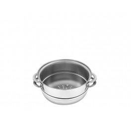 Cozi-vapore aço inox 20cm - Solar