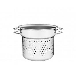 Cozi-pasta aço inox 24cm - Solar