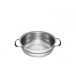 Cozi-vapore aço inox 20cm - Allegra