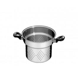 Cozi-pasta aço inox 20cm - Solar baquelite