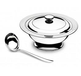 Kit para sopa aço inox 2 peças - Ciclo
