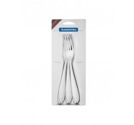 Conjunto de garfos de mesa aço inox 3 peças - Laguna