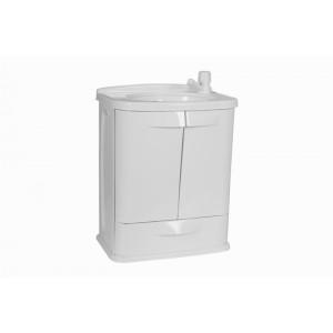 Gabinete com Lavatório 45x32x58cm GAB5 Branco Astra
