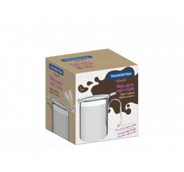 Bule para café e leite aço inox 550ml 8cm - Buena