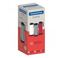 Bule térmico com infusor 1L - Exata - Cor Branco