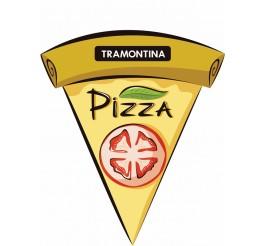 Forma para pizza aço inox 40cm - Service