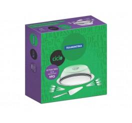Kit para torta de aço inox 9 peças - Ciclo