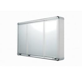 Armário Plástico com Perfil Alumínio Sobrepor 73x45x11,3 LBP14/S Astra