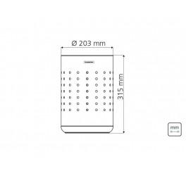 Cesto para papel 10L - Capsula Dots