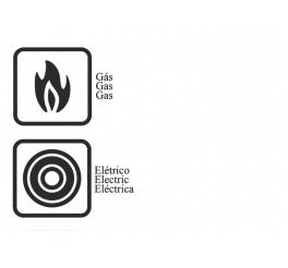 Forma para brioche de alumínio com revestimento interno antiaderente 22cm - Grafite - Brasil