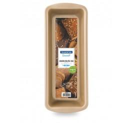 Forma para pão e bolo de alumínio com revestimento interno antiaderente 30cm - Vermelho - Brasil