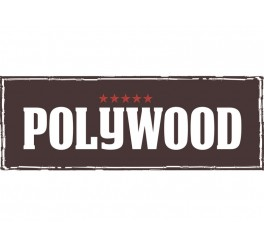 Display garfos jumbo 48 peças - Polywood - vermelho
