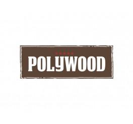 Jogo para queijo 5 peças - Polywood - vermelho