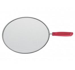 Tela para fritura 30cm - Utilitá - Cor Vermelho