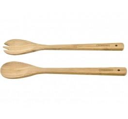 Garfo e Colher bamboo - Bamboo
