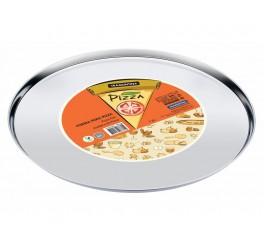 Forma para pizza aço inox 35cm - Service