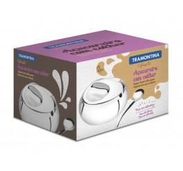 Açucareiro com colher aço inox - Chá e Café