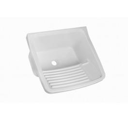 Tanque Plástico para lavar roupa 55x47x31 20 Litros TQ1 Branco Astra