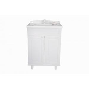 Gabinete com Lavatório 50x63x92cm GAB2 Branco Astra